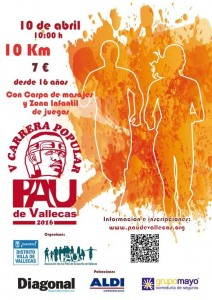 V Carrera PAU de Vallecas